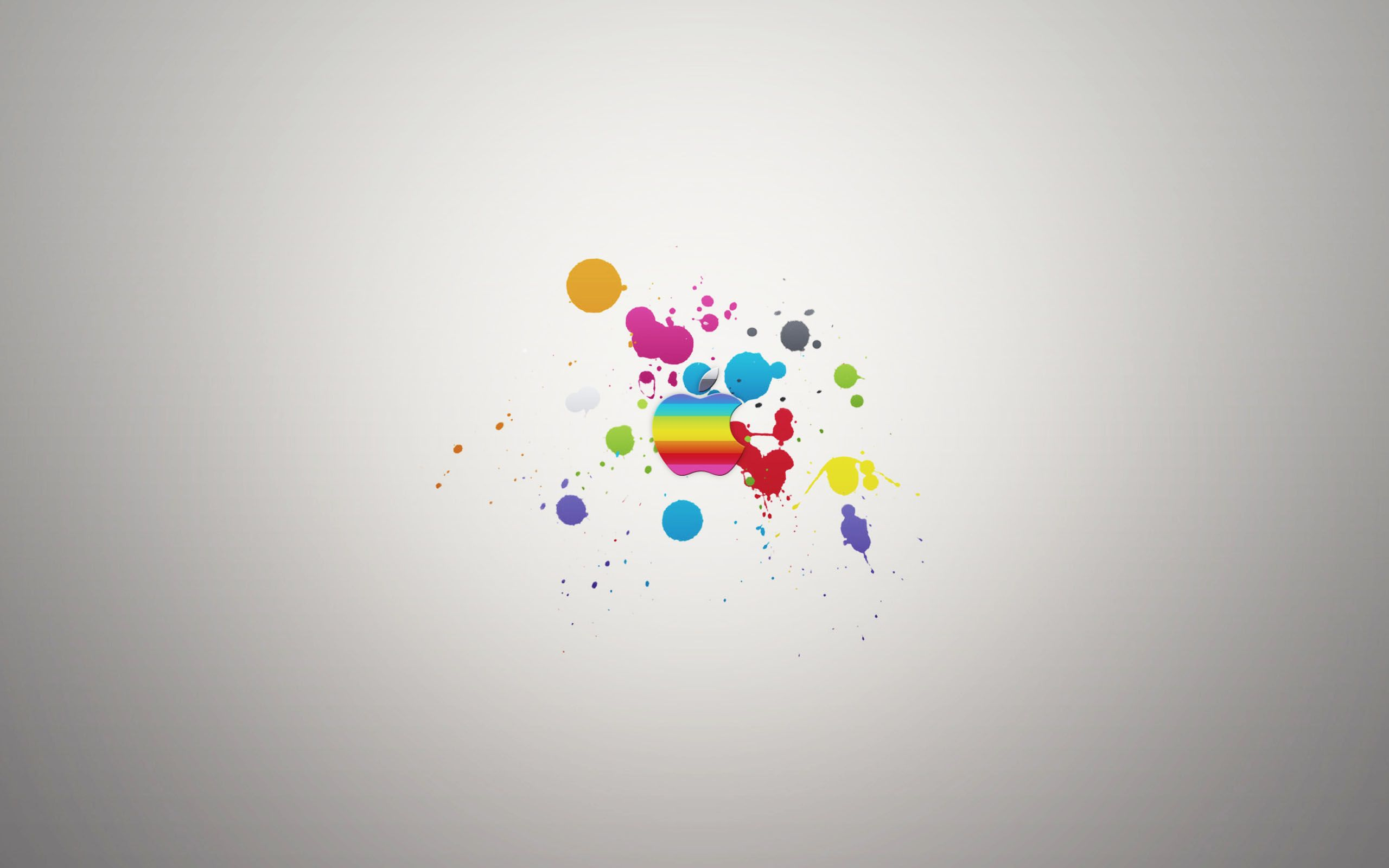 Wallpaper Apple Mac Colorat