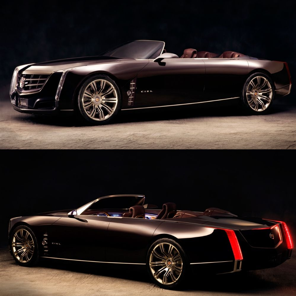 This Was One Of Caddy's Concept Cars. Gorgeous Beast