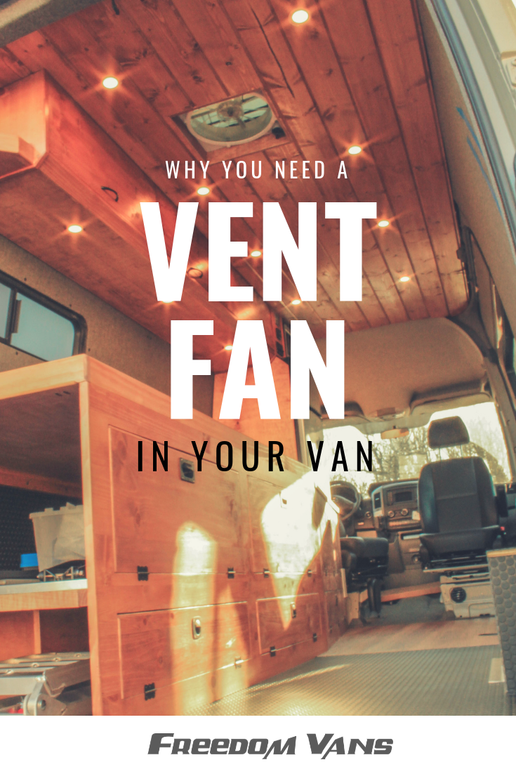 Rv Bathroom Fan: What To Know About Vent Fans In A Van