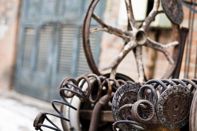 Industrial Decay into Art by storyvillegirl, via Flickr