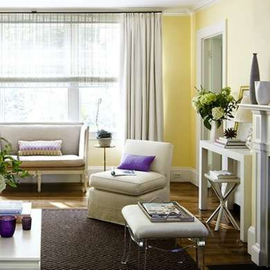 9 Calming Colors For A Serene Home. Taupe Living RoomYellow ...