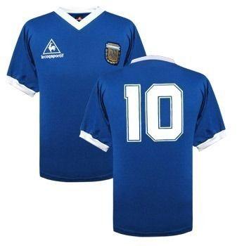 bebec8947034c Jersey Argentina Mexico 86 Maradona Azul Alt.nuevo Estampada -   799.00 en  MercadoLibre