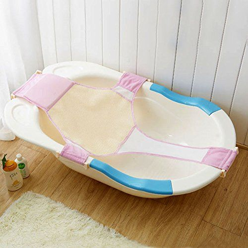 Lily\'s Gift Baby Bathtub Mesh Seat Adjustable Support Sling Net Bath ...