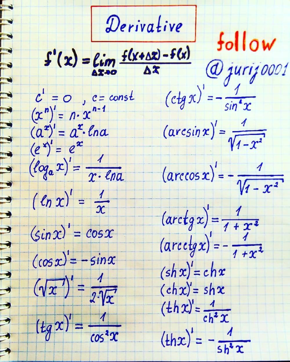 Derivative Physics Notes Follow Jurij0001 Friends In The Last Formula Cthx Physicis Physics Physicsnotes Calculus Notes Physics Notes Math Notes [ 1250 x 1000 Pixel ]