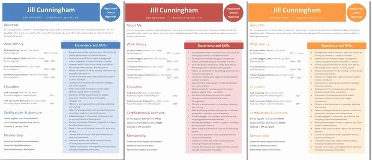 Dental hygiene resume template new 1000 images about