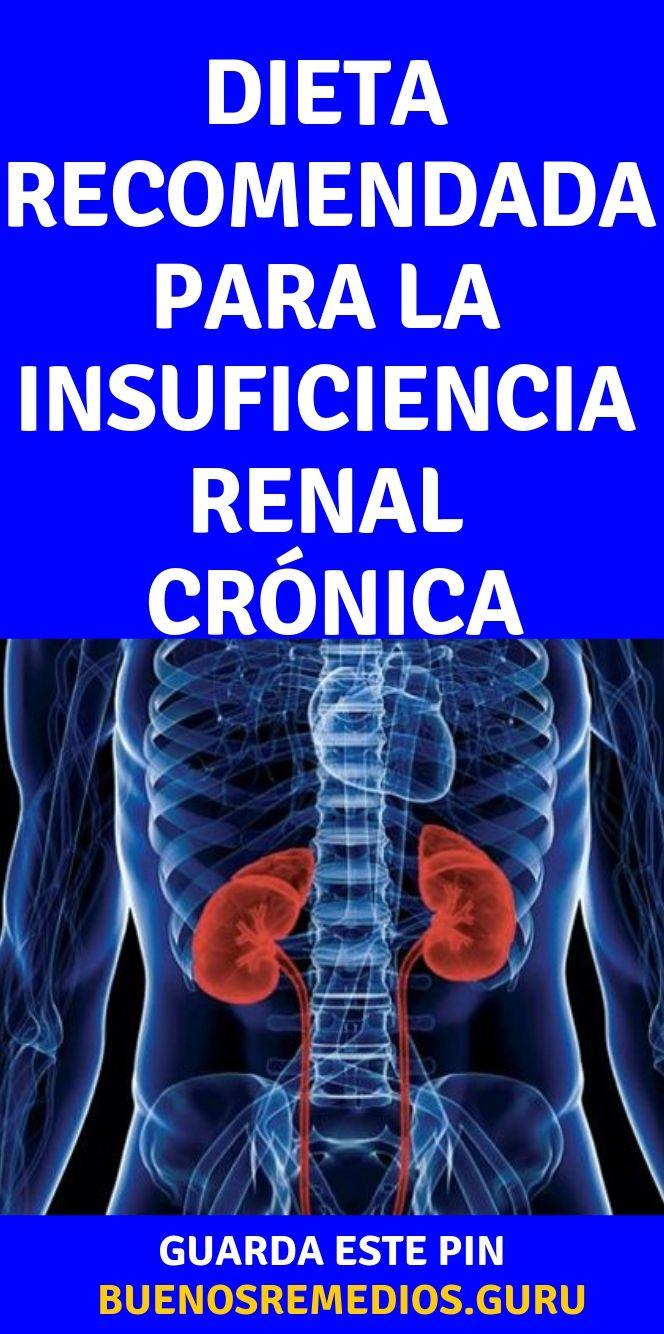Insuficiencia renal cronica dieta recomendada