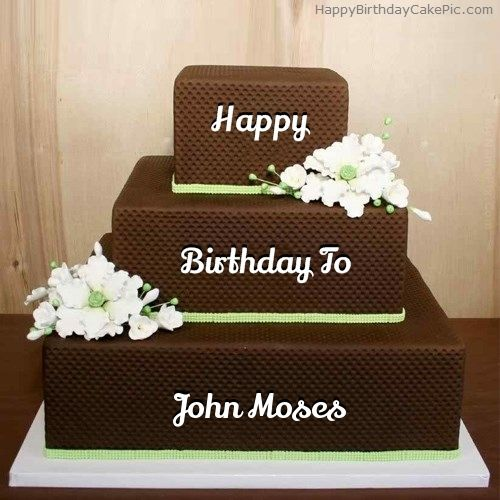 Fantastic Chocolate Shaped Birthday Cake Of John Moses Happy Birthday Mom Personalised Birthday Cards Paralily Jamesorg