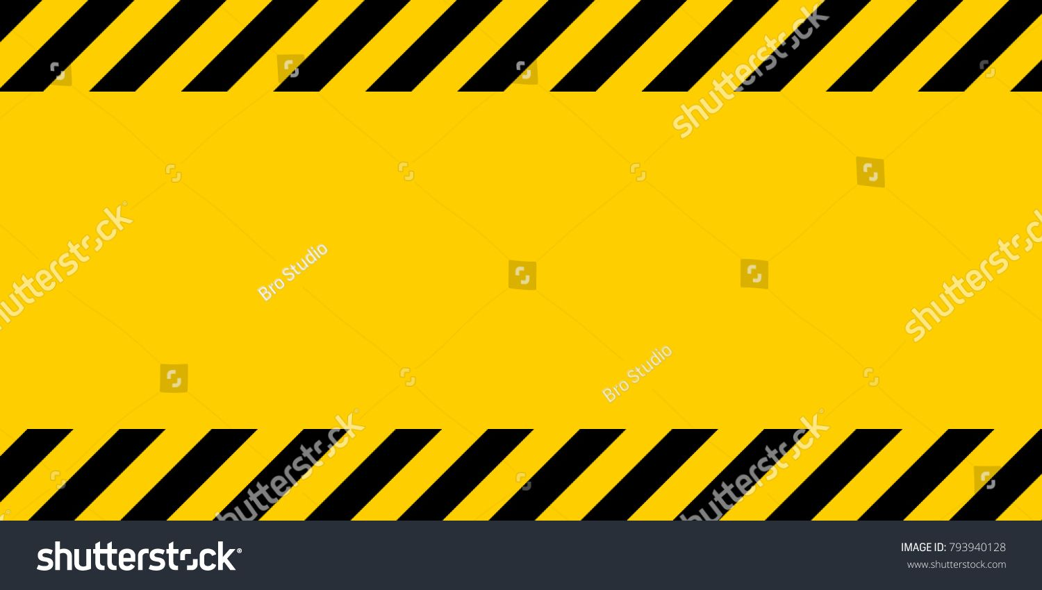 Black And Yellow Warning Line Striped Rectangular Background Yellow And Black Stripes On The Diagonal A Black N Yellow Material Design Background Yellow Line