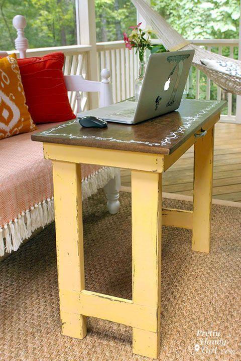 Folding Laptop Writing Table Tutorial Dremelmaker Do Diy