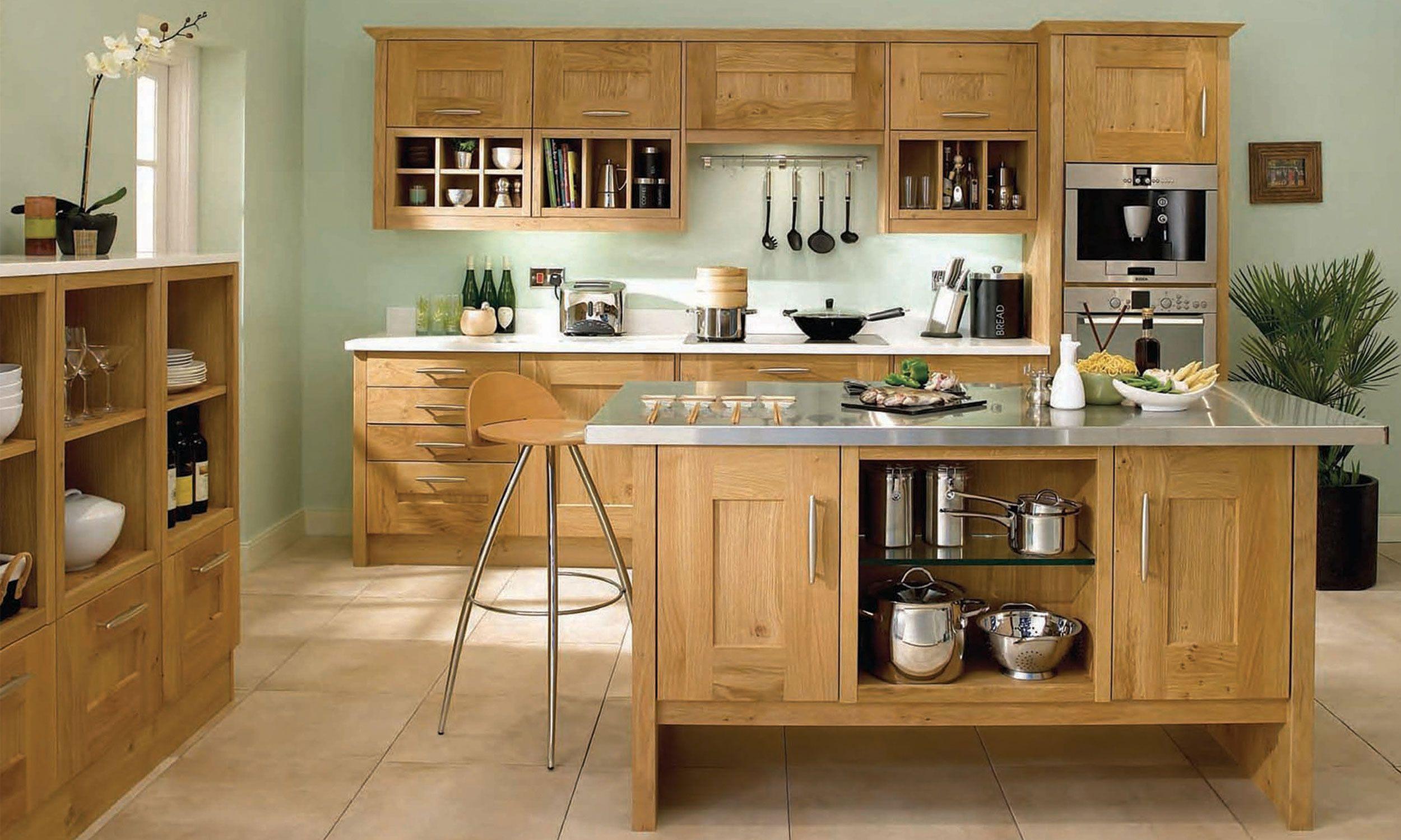 Clonmel Fully Fitted Kitchen Modern oak kitchen, Kitchen