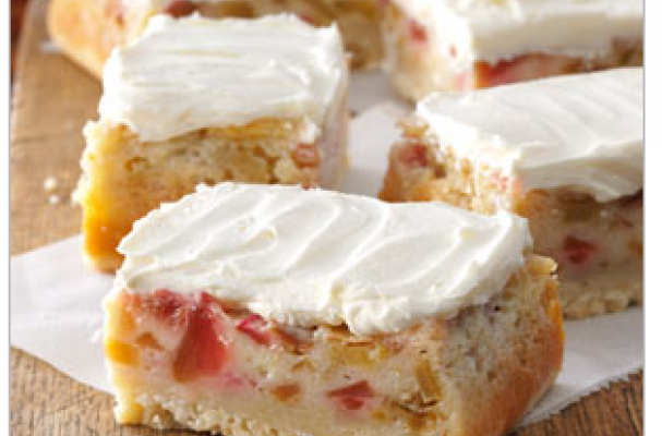 Rhubarb Custard Bars | These bars are truly magnificent and remind you that spring is a time of abundance and fresh eating;
