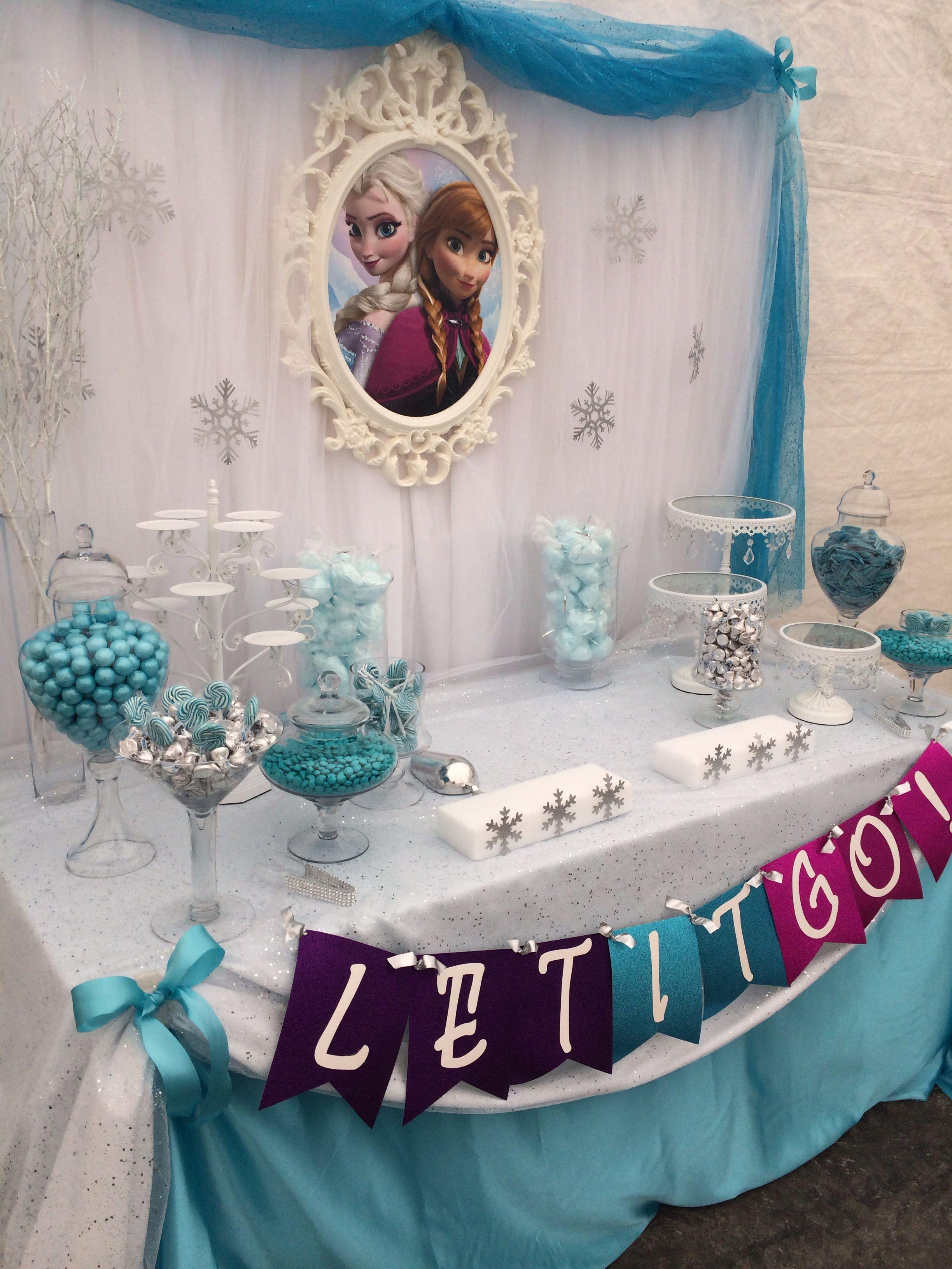 Fiesta De Cumpleanos Frozen 101 Ideas Originales Frozen Tea Party Frozen Theme Party Frozen Birthday Theme