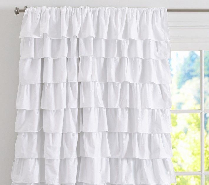 Ruffle Blackout Panel The Next One Ruffle Curtains