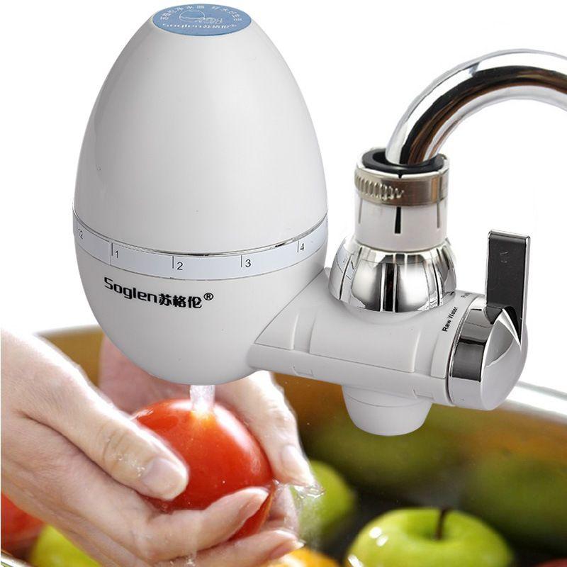 Haushalt Küche Sanitär Holzkohle Kieselalgen Keramik Wasserhahn  Wasserfilter Reinigung Trinkwasserfilter