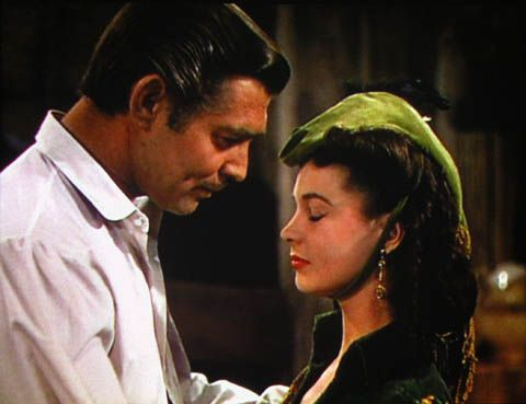 Rhett Suppose We Get Down To The Truth You Want Something From Me Badly Enough To Put On Quite A Show Gone With The Wind Scarlett O Hara Actors Actresses