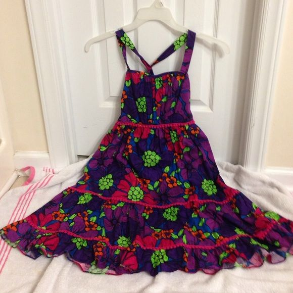 """BNWT, size 16 girl dress Gorgeous , with tag new, Emily West, floral multicolor , girl size 16, casual dress. Length: 37"""" long. Emily West Dresses"""