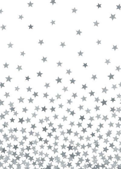 estrelas prateadas
