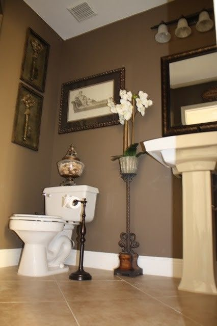 Powder Room Design Ideas Pictures Remodel And Decor Painting Bathroom Bathroom Paint Colors Behr Bathroom Paint Colors