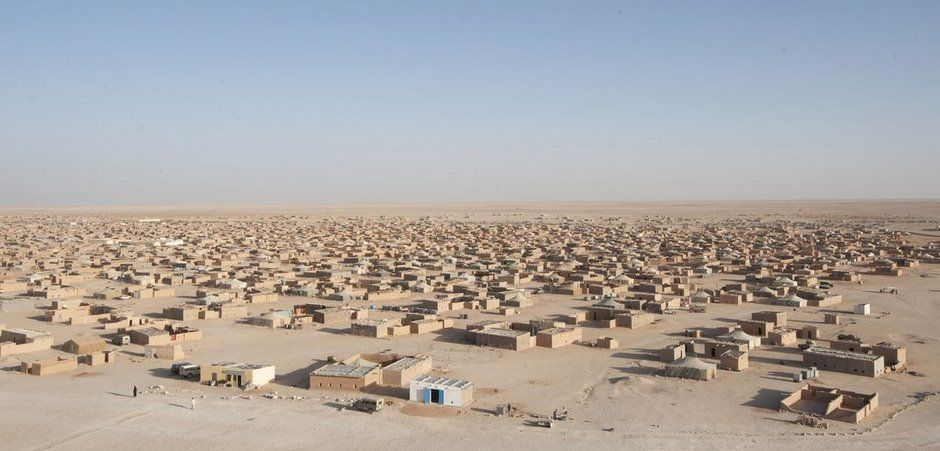 Location of Sahrawi refugees Sahrawi refugees refers to the refugees of the  Western Sahara War (1975–1991) and th… | Desert places, Western sahara,  Spanish colonies