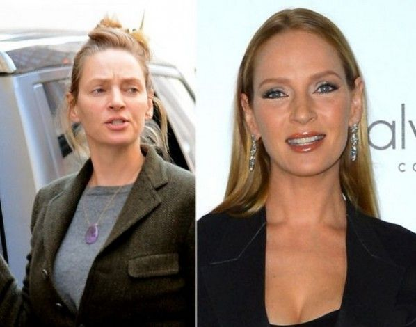 20 Celebrities Without Makeup, Are They Still Gorgeous? Don't Be Shocked! | Sticky Day
