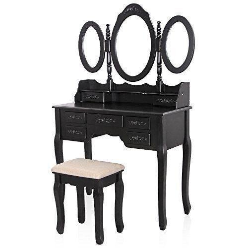Levels Of Discovery Princess Vanity Table And Chair Set Vanity Set Wooden Vanity Vanity