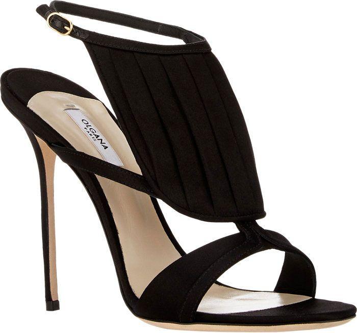 """d3a57fe3625 Olgana Paris """"La Decouverte"""" Sandals Wrap Shoes"""