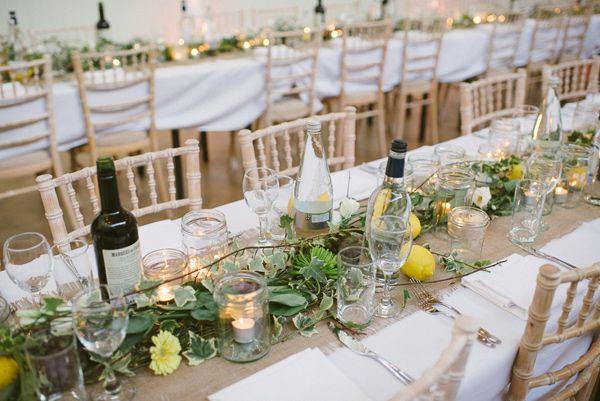 Tavolo Reception ~ Bohemian london wedding indoor wedding receptions indoor