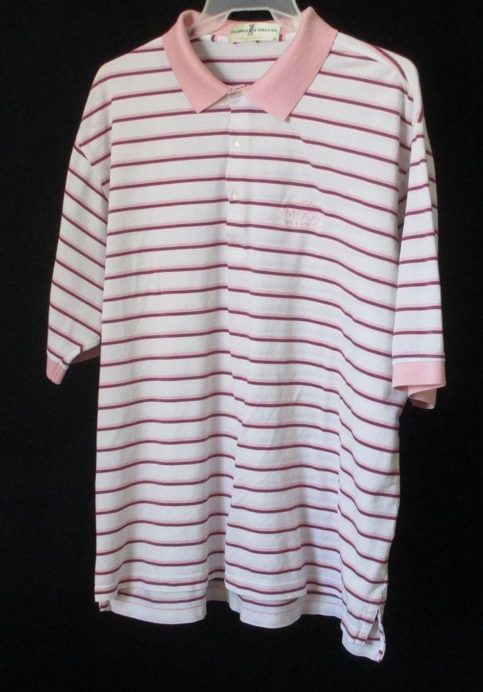 Fairway & Greene Golf Shirt Moon Spa Club XXL Mens Polo ...