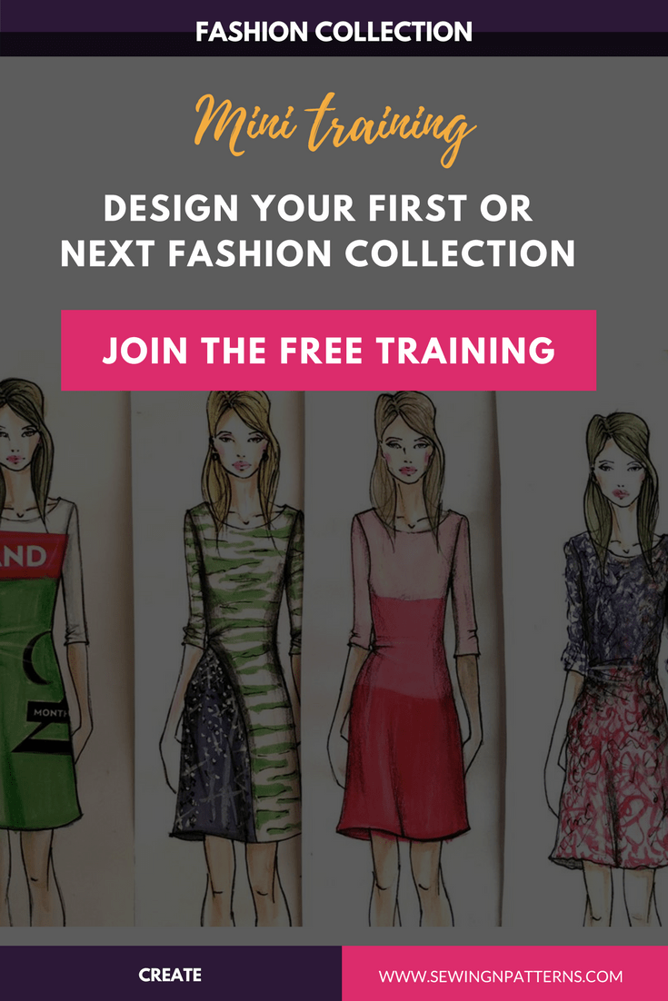 How To Design A Fashion Clothing Line In A Week (Free Mini Course) Pattern