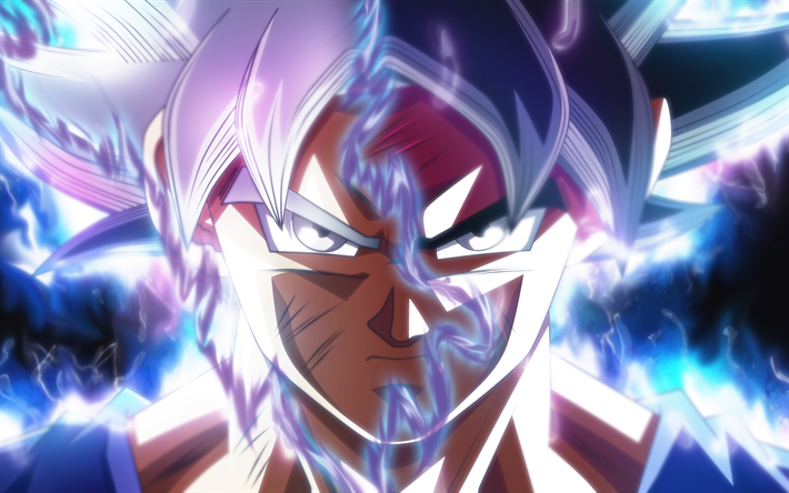 Download Wallpapers 4k Goku Ultra Instinct Art Dragon