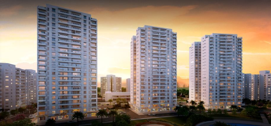 Ready To Move 1 2 3 3 5 Bhk Location S G Highway Ahmedabad Price 21 Lacs Society Godrej Garden Garden City Pinecrest Natural Ventilation