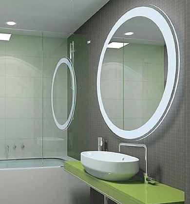 Bathroom Mirrors Circular With Light Round Mirror Bathroom Modern Bathroom Mirrors Bathroom Mirror Design