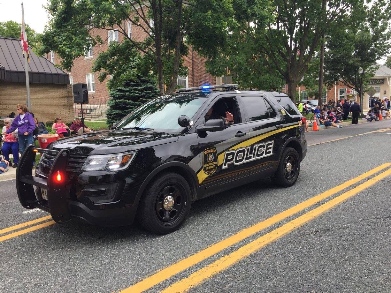 Maryland Maryland Transportation Authority Police Ford Utility Interceptor Vehicle Ford Police Emergency Vehicles Police Cars
