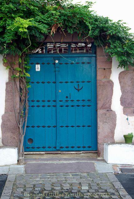 Porte à Ainoha Pyrénées et France