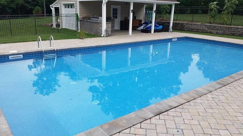 A New Swimming Pool Installation In Roanoke Va Pool Swimming Pools Pool Installation