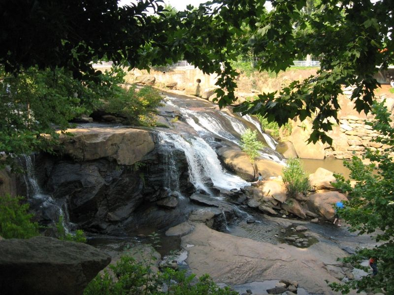 Wordless Wednesday - More Waterfalls in Greenville SC