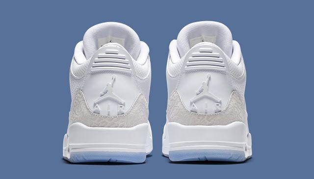 d3c5b58f6bab04 Swag Craze  First Look  Nike Air Jordan 3 Retro  Pure White
