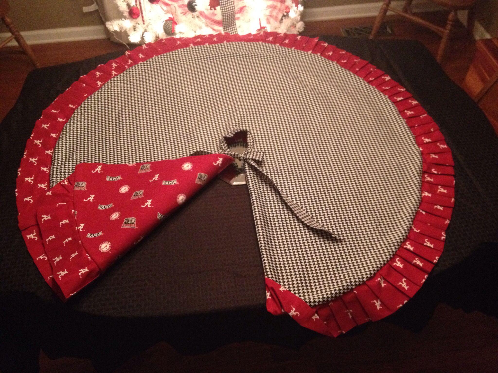 Alabama reversible tree skirt. $65 | Christmas Tree Skirts ...
