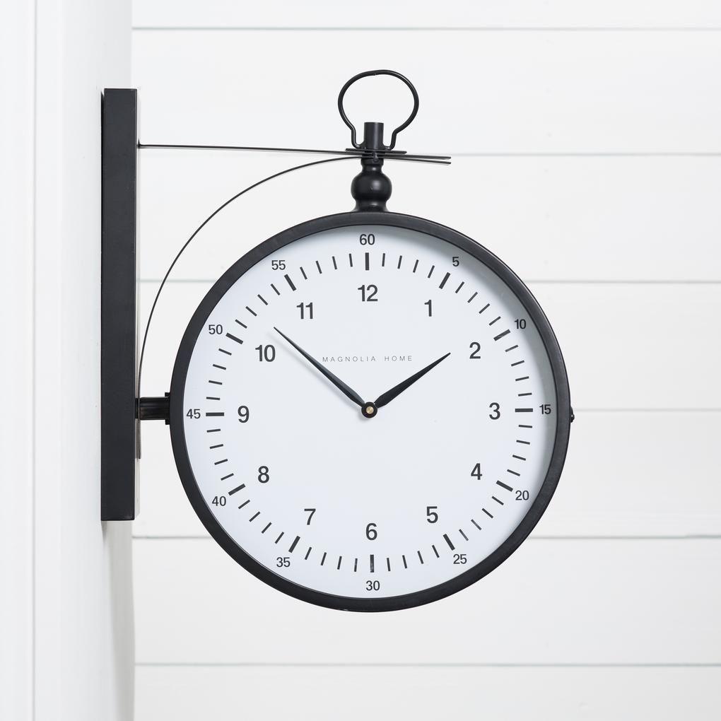 Metro Station 2 Sided Wall Clock 2 Sided Wall Clock Wall Clock Clock