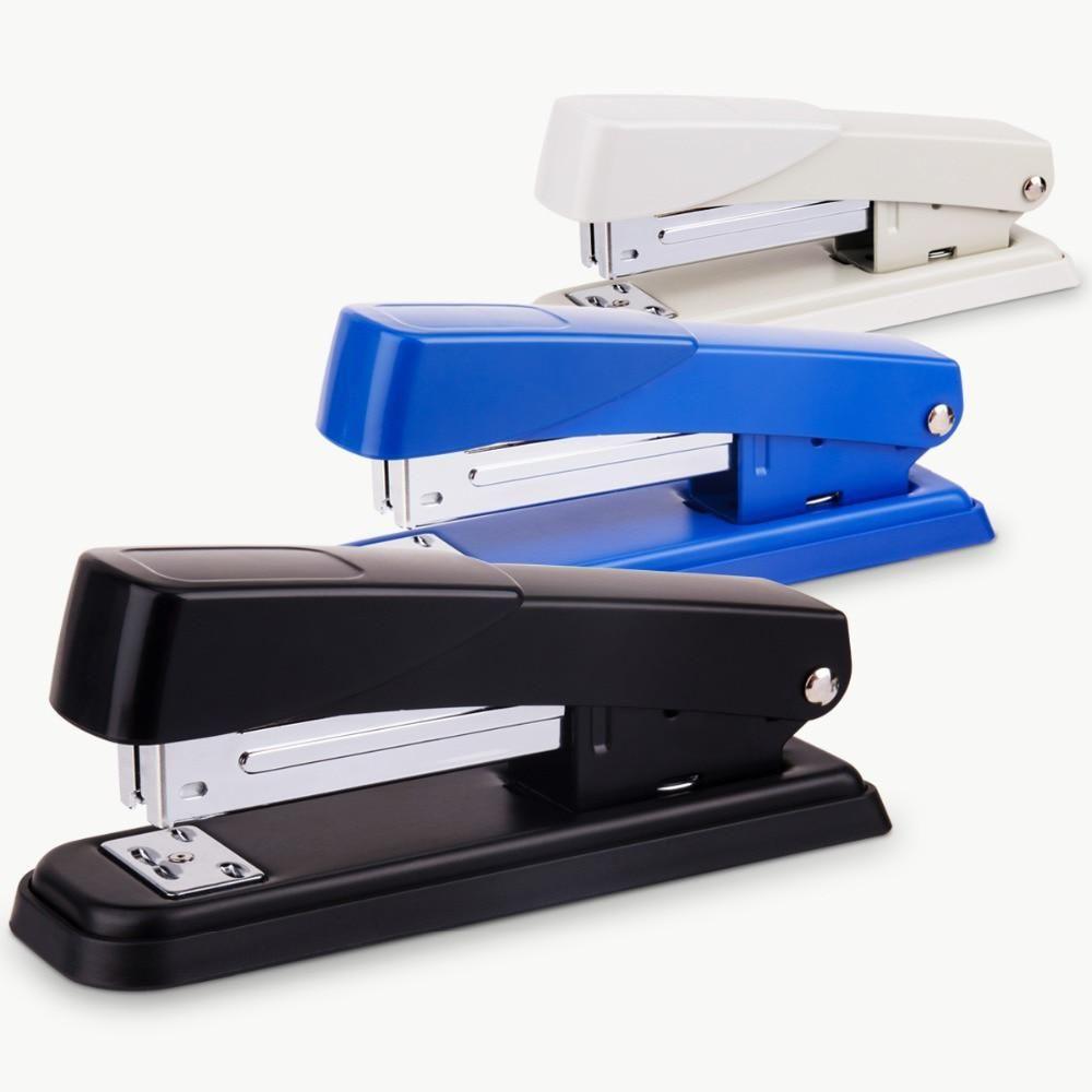 Deli 1pc Metal Stapler Stationery Stapler Binding Device