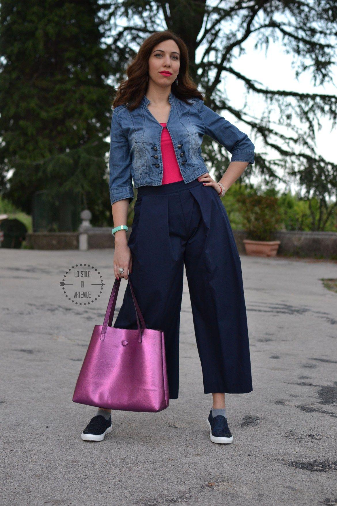 69c3076dc8 I pantaloni #culotte sono i pantaloni del 2016, ma attente a come li ...