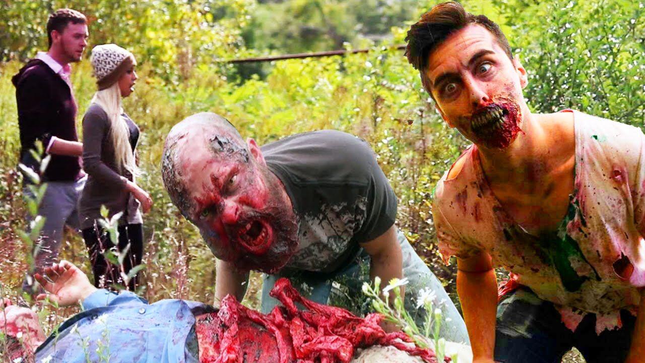 Zombies In Real LIfe Halloween Prank | Funny Pranks | Pinterest ...