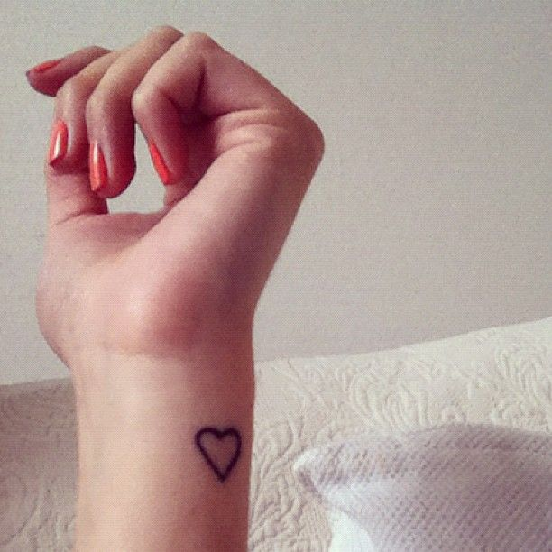 Blog Lifestyle Deco Bijoux De Createurs Tattoos Little Heart Tattoos Simple Heart Tattoos