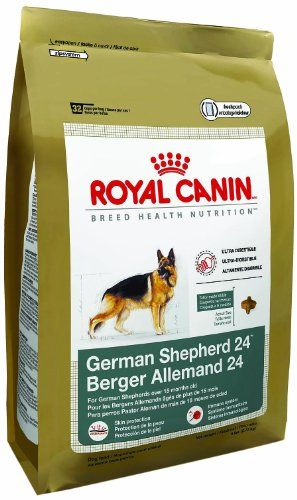 Royal Canin Dry Dog Food German Shepherd 24 Formula 33 Pound Bag