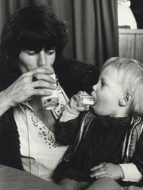 Keith Richards with son Marlon. S) | famous people in ...
