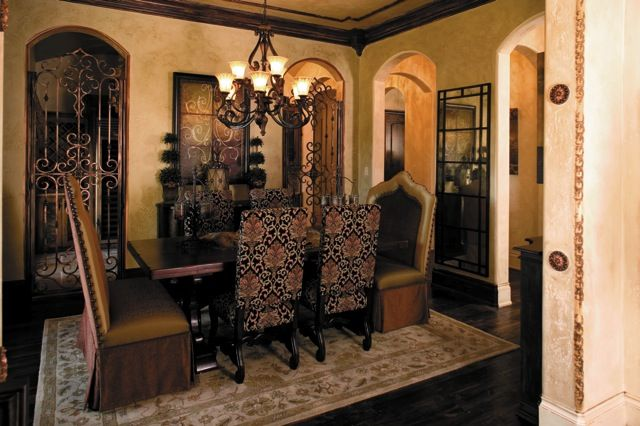 Great Old World / Tuscan Dining Room. | Tuscan decorating ...