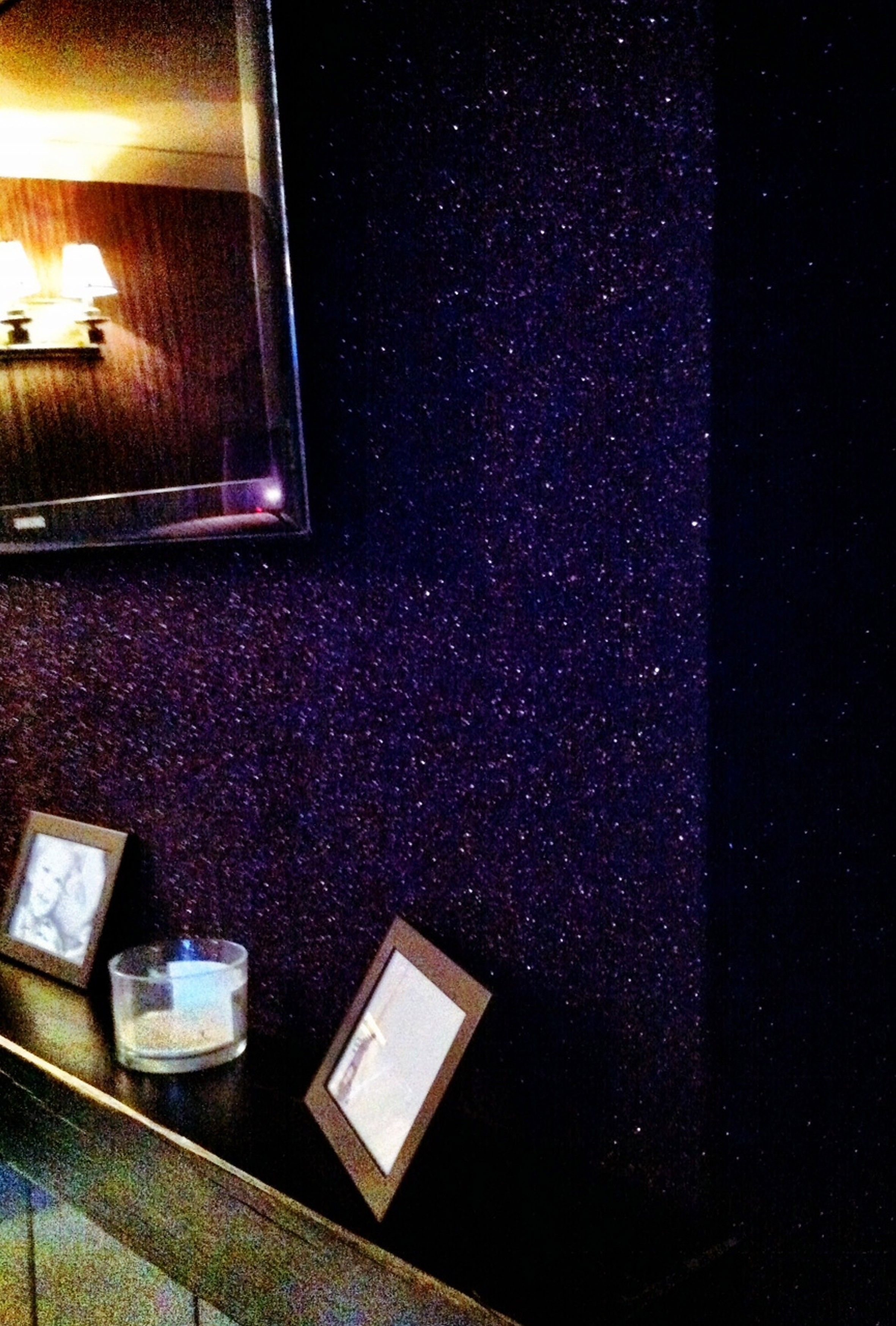 Purple Glitter Wall Paper Oh I Want Some