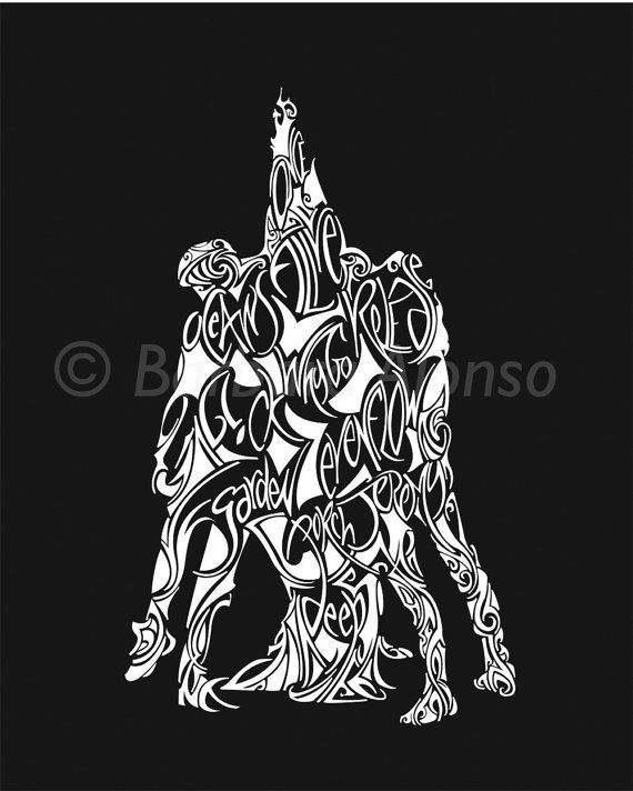 5 Against 1 8x10 By Bdrawn On Etsy 12 50 Pearl Jam Ten Pearl Jam Tattoo Pearl Jam