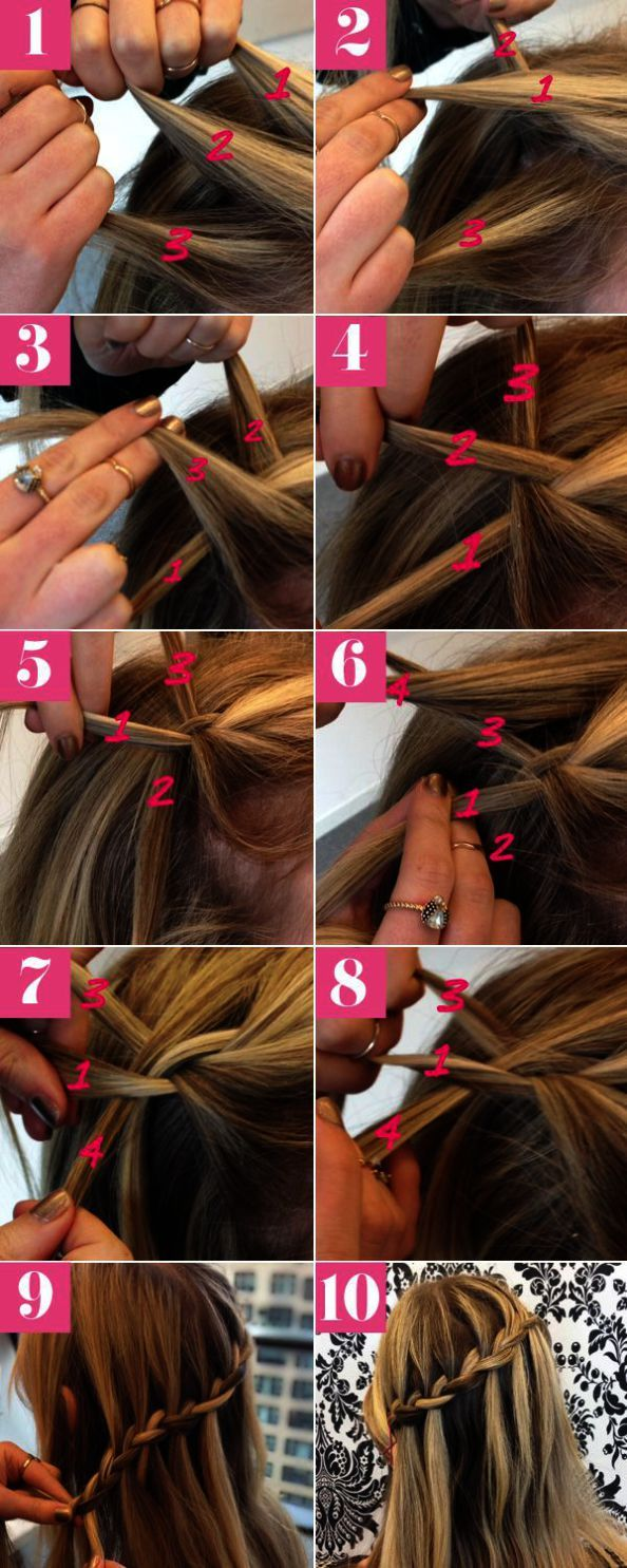 Haircut Near Me Sunday Around Easy Front Braid Hairstyles Dailymotion Your Waterfall Braid Hairstyle Braided Hairstyles Tutorials Easy Braided Hairstyles Easy