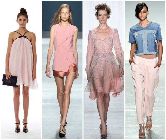 Spring 2014 Fashion Week Trends: Ladylike Blush